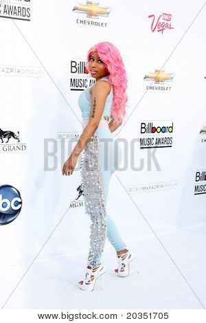LAS VEGAS - MAY 22:  Nicki Minaj arriving at the 2011 Billboard Music Awards at MGM Grand Garden Arena on May 22, 2010 in Las Vegas, NV.