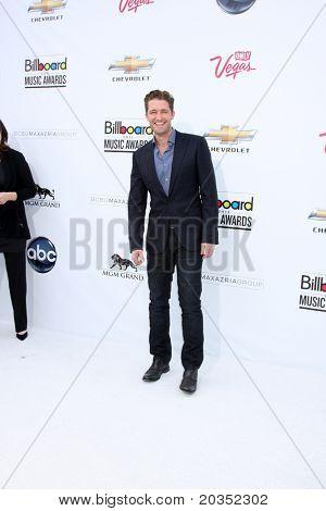 LAS VEGAS - MAY 22:  Matthew Morrison arriving at the 2011 Billboard Music Awards at MGM Grand Garden Arena on May 22, 2010 in Las Vegas, NV.
