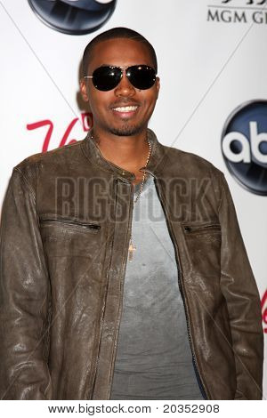 LAS VEGAS - MAY 22:  Nas in the Press Room of the 2011 Billboard Music Awards at MGM Grand Garden Arena on May 22, 2010 in Las Vegas, NV.