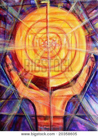 Reiki Healing Symbol Painting