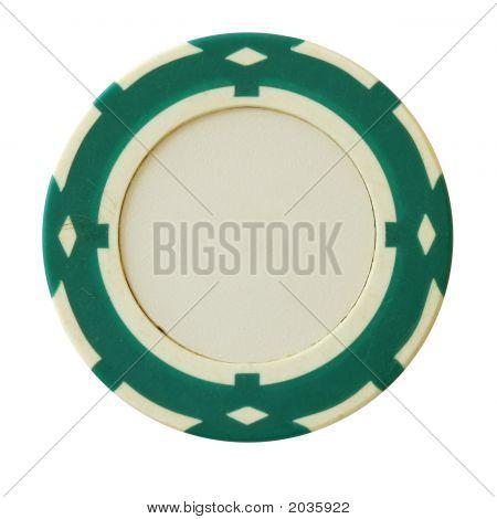 Green Casino Chip