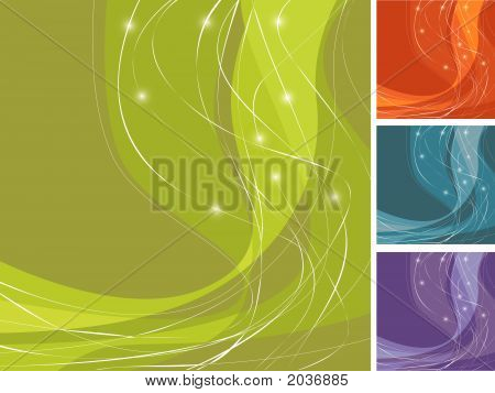 Colorful Swoosh Backgrounds