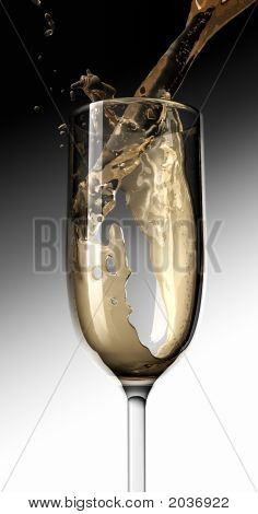 Pouring Champaign