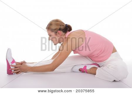 woman practicing fitness, healthy lifestyle concept
