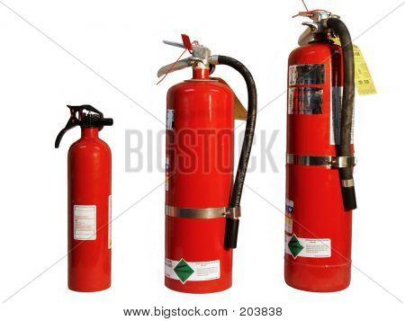 Papa, Mama, & Baby Extinguisher