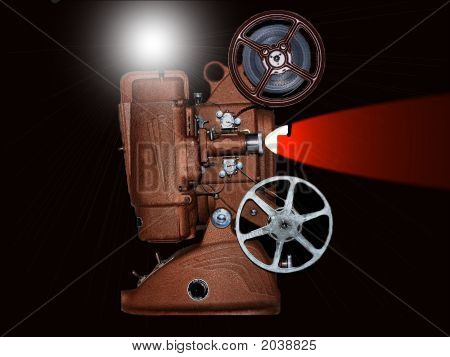 Old 8Mm Mivie Projector 2