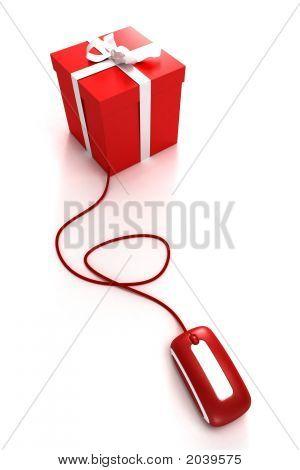 Caixa de presente da Internet
