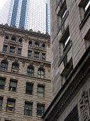 Boston Buildings poster