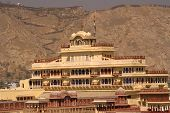 stock photo of rajasthani  - City Palace Jaipur India - JPG
