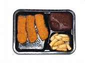 Chicken Stick  Tv Dinner