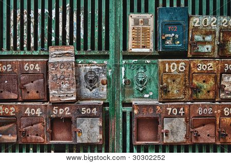 Chinese Mail Boxes
