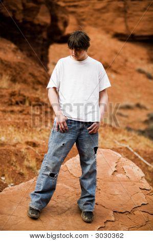 Teen In Nature Portrait