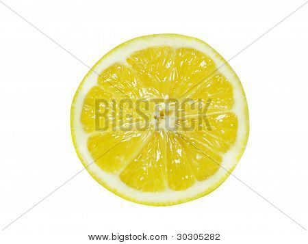 Fresh Half Lemon
