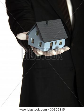 The House In The Hand Of A Salesman
