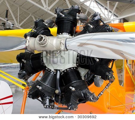 Air Cooled Radial Engine