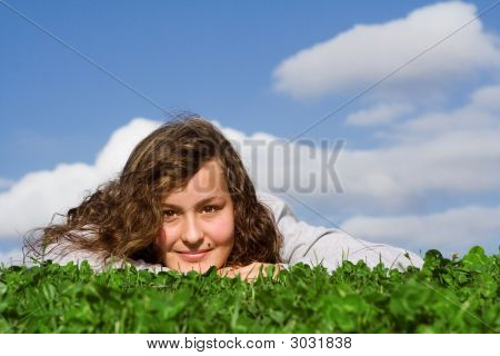 Happy Smiling Teen
