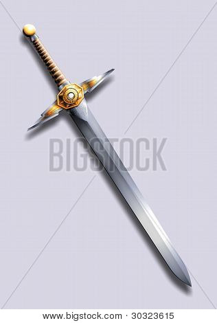 sword - lightning