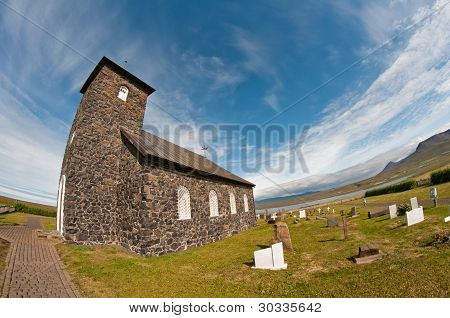 Stone Church In The Coutry