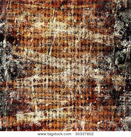 Grunge Abstract Background For A Design.
