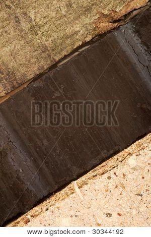 Madera y carbón