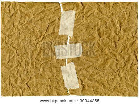 Papier und Klebebänder