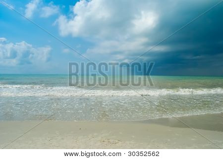 Seascape Before The Storm