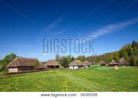 Traditional Old Polish Village