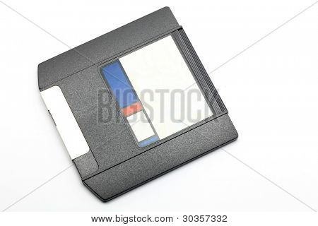 Zip Drive magnetic computer data storage support over white background
