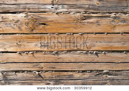 Rough Wood Wall Background