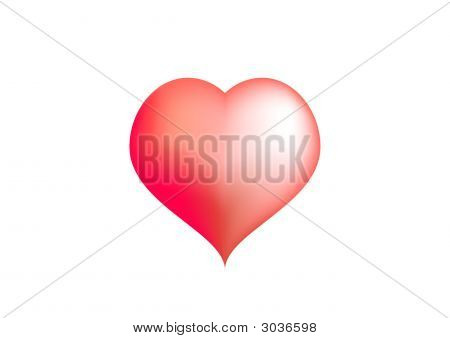 Big Red Love Heart
