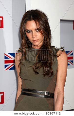 LOS ANGELES - FEB 24:  Victoria Beckham arrives at the GREAT British Film Reception at the British Consul General�¢??s Residence on February 24, 2012 in Los Angeles, CA.