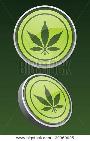 Vector Marijuana Icon
