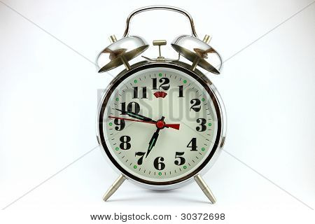 The traditional an alarm clock