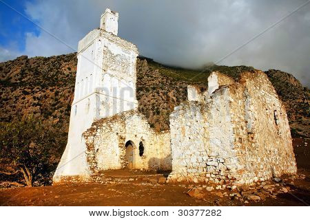 Spanish Mosque in Chefchaouen, Morocco, Africa