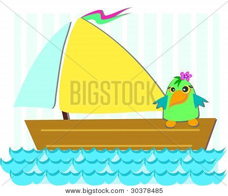 Sailboat Bird