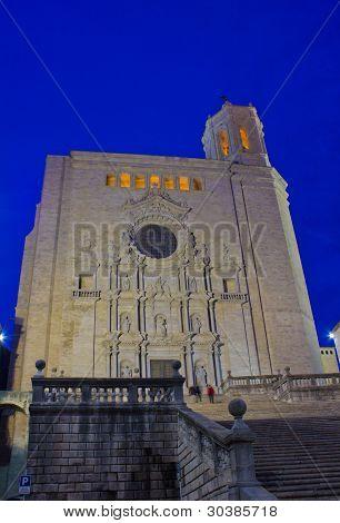cathedral de Santa Maria, Girona, Spain