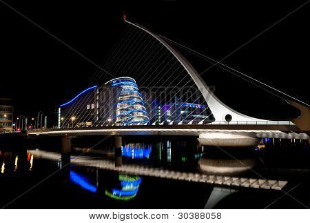 Samuel Beckett Bridge, Dublin - Ireland