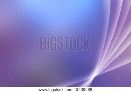 Abstract Aurora Effect Background