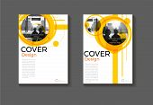 Layout Yellow Abstract Background Modern Cover Design Modern Book Cover Brochure Cover  Template,ann poster
