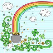 pic of end rainbow  - St Patrick - JPG