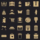 Cupboard Icons Set. Simple Set Of 25 Cupboard Vector Icons For Web For Any Design poster