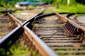 picture of train track  - Abstract soft - JPG