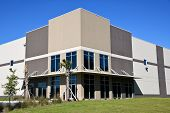 New Commercial Building With Office And Warehouse Space Available For Sale Or Lease poster