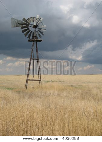 Lonely Wind Mill