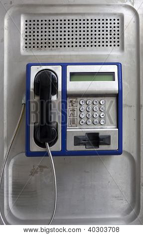 Modern Public Telephone