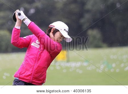 Amy Yang (KOR) at Evian Masters golf cup 2011