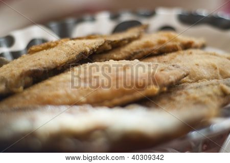 Breaded Plaice Fish