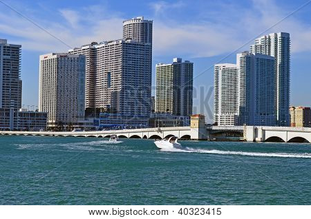 Drawbridge and Condo Towers