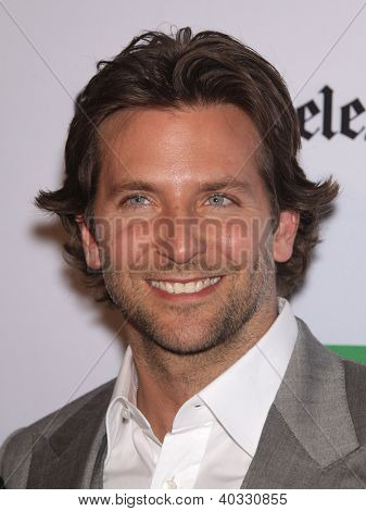 LOS ANGELES - OCT 22:  Bradley Cooper arrives to Hollywood Film Awards Gala 2012 on October 22, 2012 in Beverly Hills, CA