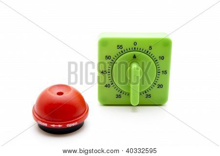 Egg piercer  and Egg timer